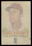 1966 Topps Rub Offs   Dick Stuart   Back Thumbnail