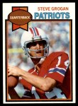 1979 Topps #95  Steve Grogan  Front Thumbnail