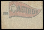 1966 Topps Rub Offs    Houston Astros Pennant Back Thumbnail