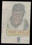1966 Topps Rub Offs  Bob Veale  Back Thumbnail