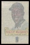 1966 Topps Rub Off #64   Willie McCovey   Back Thumbnail