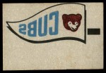 1966 Topps Rub Offs    Chicago Cubs Pennant Front Thumbnail