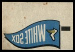1966 Topps Rub Offs    Chicago White Sox Pennant Front Thumbnail