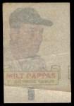 1966 Topps Rub Offs   Milt Pappas   Back Thumbnail