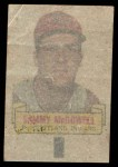 1966 Topps Rub Off #65   Sam McDowell   Back Thumbnail