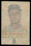 1966 Topps Rub Off #68   Bill Monbouquette   Back Thumbnail