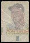 1966 Topps Rub Offs  Tom Tresh  Back Thumbnail