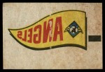1966 Topps Rub Offs    California  Angels Pennant Front Thumbnail