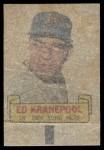 1966 Topps Rub Off #48  Ed Kranepool  Back Thumbnail