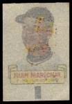 1966 Topps Rub Offs   Juan Marichal   Back Thumbnail