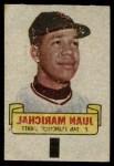 1966 Topps Rub Offs   Juan Marichal   Front Thumbnail