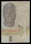 1966 Topps Rub Offs  Ed Charles  Back Thumbnail