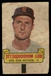 1966 Topps Rub Off #68   Bill Monbouquette   Front Thumbnail