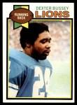 1979 Topps #284  Dexter Bussey  Front Thumbnail