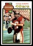 1979 Topps #77  Steve DeBerg  Front Thumbnail