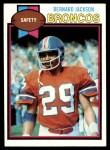 1979 Topps #12  Bernard Jackson  Front Thumbnail