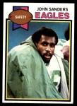 1979 Topps #54  John Sanders  Front Thumbnail