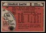 1980 Topps #154  Charlie Smith  Back Thumbnail