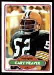 1980 Topps #38  Gary Weaver  Front Thumbnail
