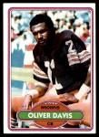 1980 Topps #49  Oliver Davis  Front Thumbnail