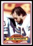 1980 Topps #22  Jon Keyworth  Front Thumbnail
