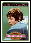1980 Topps #140  Doug English  Front Thumbnail