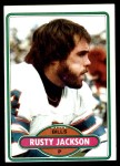 1980 Topps #142  Rusty Jackson  Front Thumbnail