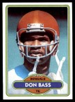 1980 Topps #213  Don Bass  Front Thumbnail