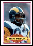1980 Topps #322  Terry Nelson  Front Thumbnail