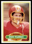 1980 Topps #371  Don Warren  Front Thumbnail