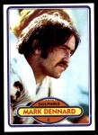 1980 Topps #321  Mark Dennard  Front Thumbnail