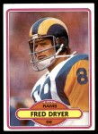 1980 Topps #202  Fred Dryer  Front Thumbnail