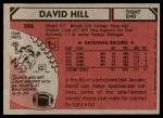1980 Topps #295   -  David Hill All-Pro Back Thumbnail