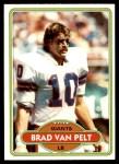 1980 Topps #395  Brad Van Pelt  Front Thumbnail