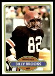 1980 Topps #483  Billy Brooks  Front Thumbnail