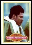 1980 Topps #440  Wilbert Montgomery  Front Thumbnail
