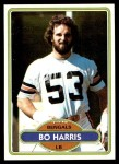 1980 Topps #524  Bo Harris  Front Thumbnail