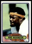 1980 Topps #46  Mike Washington  Front Thumbnail