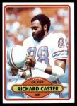 1980 Topps #198  Richard Caster  Front Thumbnail