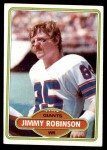 1980 Topps #74  Jimmy Robinson  Front Thumbnail