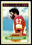 1980 Topps #145  Ken Houston  Front Thumbnail