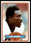 1980 Topps #137  Ike Harris  Front Thumbnail