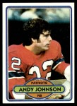 1980 Topps #372  Andy Johnson  Front Thumbnail