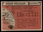 1980 Topps #312  Doug Williams  Back Thumbnail