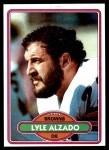 1980 Topps #220  Lyle Alzado  Front Thumbnail