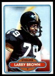1980 Topps #236  Larry Brown  Front Thumbnail