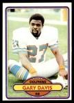 1980 Topps #262  Gary Davis  Front Thumbnail