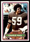 1980 Topps #298  Charlie Hall  Front Thumbnail