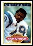 1980 Topps #210   -  Gary Johnson All-Pro Front Thumbnail