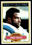 1980 Topps #392  Fred Dean  Front Thumbnail